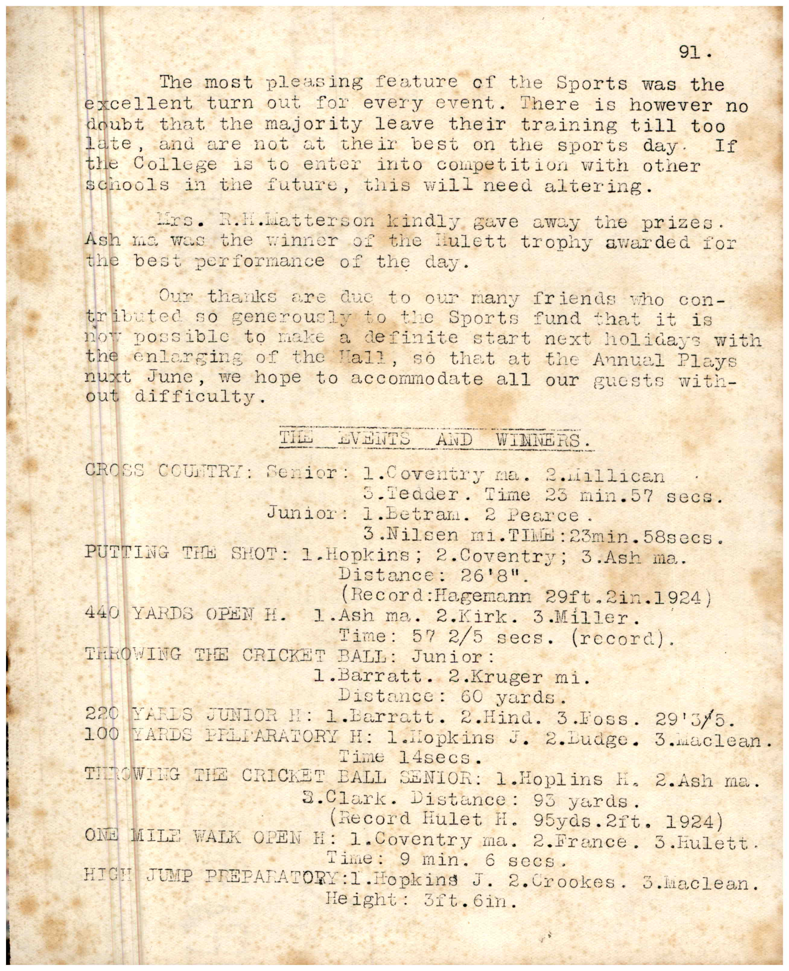 1927 - All Documents